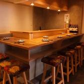 お寿司カウンター席(禁煙)6名様までOKです。