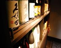 焼酎・日本酒の品ぞろえ