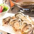 料理メニュー写真産地直送生牡蠣の地酒しゃぶしゃぶ(5ケ)