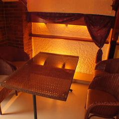 デートや特別な記念日利用にピッタリのお席◎特別な時間を演出する個室で、ゆったりとお食事をお楽しみ頂ける造りになっております。席のご予約はお早めにどうぞ!
