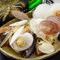 料理メニュー写真漁師の貝風呂