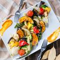 料理メニュー写真野菜の窯焼き