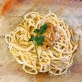 料理メニュー写真特製!ウニのクリームスパゲッティ!