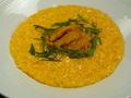 料理メニュー写真ウニのリゾット