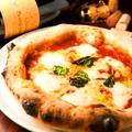 料理メニュー写真マルゲリータ(モッツァレラ・バジル・トマト)(ランチ・ディナーセットのピザデリバリーにて)