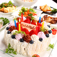 誕生日・記念日特典が人気