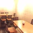 宴会に人気の半個室、予約はお早めに。