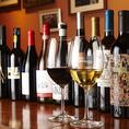 ソムリエが厳選したスペイン料理に合う赤、白ワインを豊富にご用意しております♪料理と合わせて是非お楽しみ下さい☆
