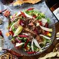 料理メニュー写真エレガンス肉サラダ