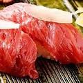 料理メニュー写真熊本馬肉のにぎり寿司(5貫)
