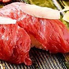 熊本馬肉のにぎり寿司(5貫)