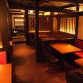 家族でのお食事会や、会社帰りのサクッと飲みなら「串の坊」へ。お酒のご案内もおまかせください。焼酎や日本酒片手にゆったりとお過ごしいただけます。