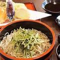 料理メニュー写真野菜天ざる蕎麦