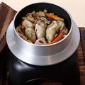 料理メニュー写真広島産 牡蠣釜めし