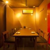 3Fの個室席。用途に合わせて2名様~25名様の個室ご用意しております。