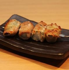 料理メニュー写真肉巻き串 しそ長芋