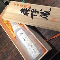 日本酒に負けず焼酎も40種