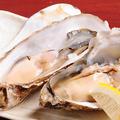 料理メニュー写真【限定】厚岸産 殻付き カキ(2個)
