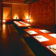 歓迎会・送別会等に対応可能な個室がたくさん