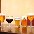 ドラフトマスター厳選の10種類のドラフトビールはどれも格別です!最適な状態を表現し、より美味しいビールを♪ベルギービール2時間飲み放題付コースは<全8品>3800円からご用意しております!ベルギーのビアカフェを再現したモダンな空間で素敵なひと時を過ごしませんか♪皆様のご来店心よりお待ちしております。