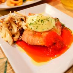 若鶏のモッツァレラオーブン焼き(トマトソース)