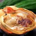 料理メニュー写真蟹味噌の甲羅焼き