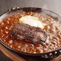 料理メニュー写真幻の炙り焼きタンカレー(蔵王地養卵入り)