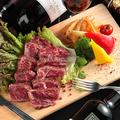 料理メニュー写真【ブラックアンガス牛】ハラミステーキ