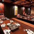 最大48名様までご宴会可能で、貸切も承っております。刺身居酒屋うおや一丁の飲み放題付き宴会コースは3500円よりご用意をしております。厳選した新鮮な鮮魚をめいいっぱい利用した飲み放題付き宴会コースはどれも人気!【東京 個室 飲み放題】