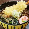 料理メニュー写真海老天ぷら蕎麦