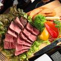 料理メニュー写真【ブラックアンガス牛】ミスジステーキ