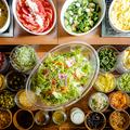 料理メニュー写真色とりどりの食材
