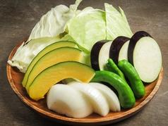焼き野菜盛り