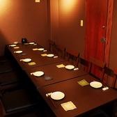 会社宴会など中団体様に人気の個室席