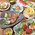 宴会やご接待におすすめのコース料理をご用意しております。絶品の海鮮・仙台名物牛タンをお楽しみください。