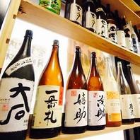 焼酎・日本酒をディスプレイした店内!