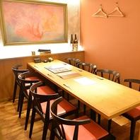 【完全個室】接待や会食にもご利用いただけます。