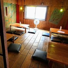 ≪テーブル≫5名様席が4席ございます♪