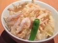 料理メニュー写真白えびかき揚天丼