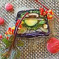 料理メニュー写真野菜のテリーヌ