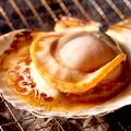 料理メニュー写真ホタテのバター焼き