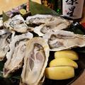 料理メニュー写真~生牡蠣~ 宮城県産、岩手県産、北海道 他