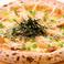 料理メニュー写真照り焼きチキン ピッツァ