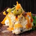 料理メニュー写真パリパリ食感舌屋のポテサラ