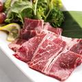 料理メニュー写真国産牛カルビのジューシー焼き