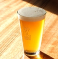 オススメNO.1【メイヨンラガー】その名の通り、名古屋駅前『名駅四丁目』から生まれた、当店でしか飲めないラガービール。