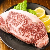 【黒毛和牛サーロインステーキ】付コース 4200円