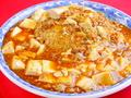 料理メニュー写真麻婆豆腐あんかけチャーハン