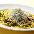 料理メニュー写真和と洋のグッドセッション! しらすと大葉のペペロンチーノ