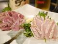 料理メニュー写真薩摩鶏の刺身